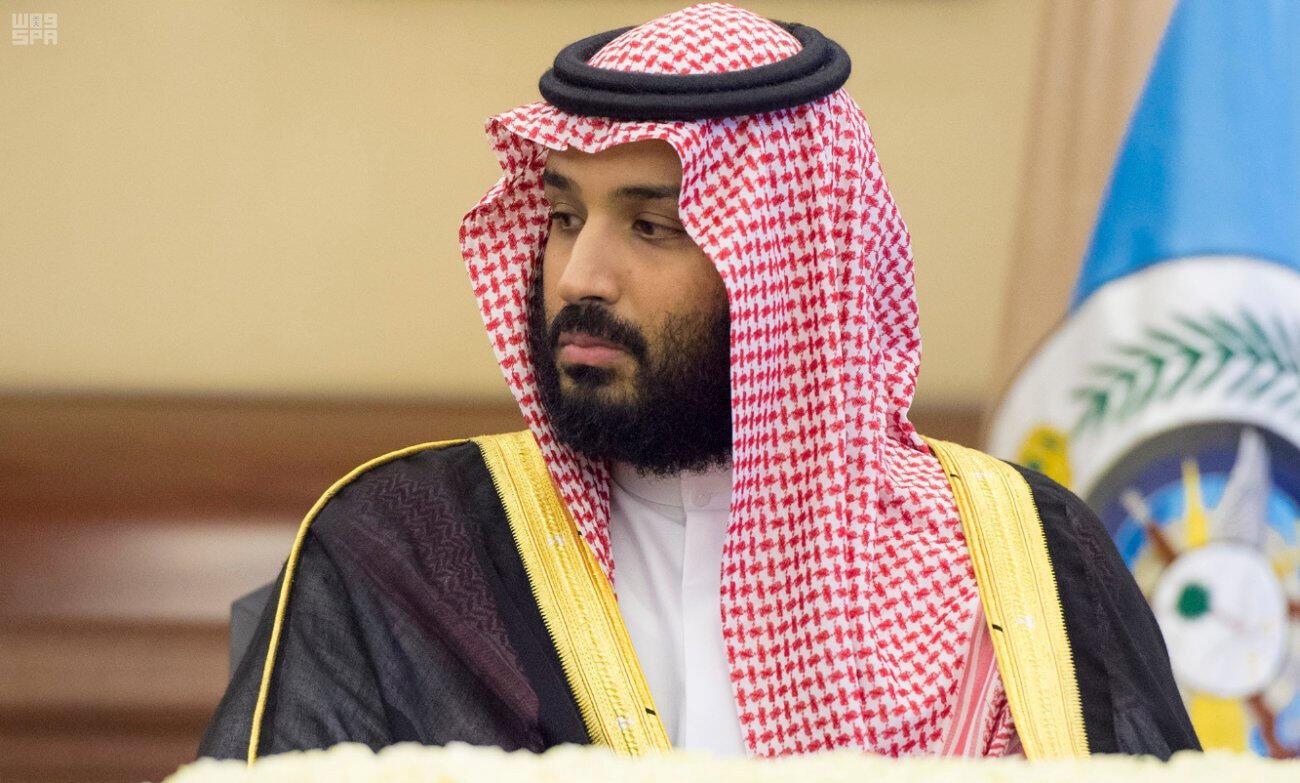 Mohamed bin Salman, príncipe herdeiro da Arábia Saudita desde 2017.
