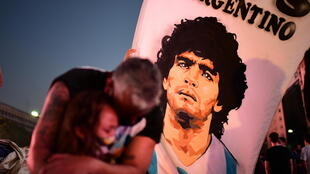 After his death, Maradona's coffin was taken to the presidential palace to lie in state as thousands of fans flocked to say their farewells