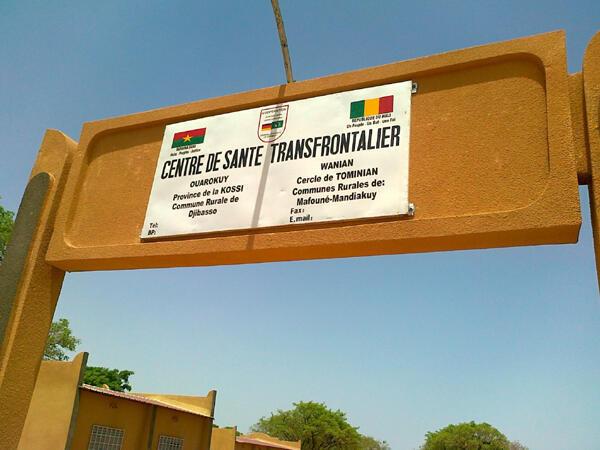 Centre de santé transfrontalier.