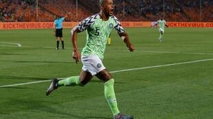 William Troost-Ekong's late goal sent Nigeria into the semi-final for the first time since they claimed the trophy in 2013.