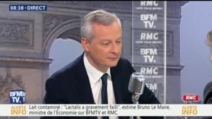برونو لومر وزیر اقتصاد فرانسه در مصاحبه با شبکه ب.اف.ام و رادیو مونت کارلو