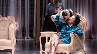 Une scène de la pièce «Mama» de Ahmed el-Attar.