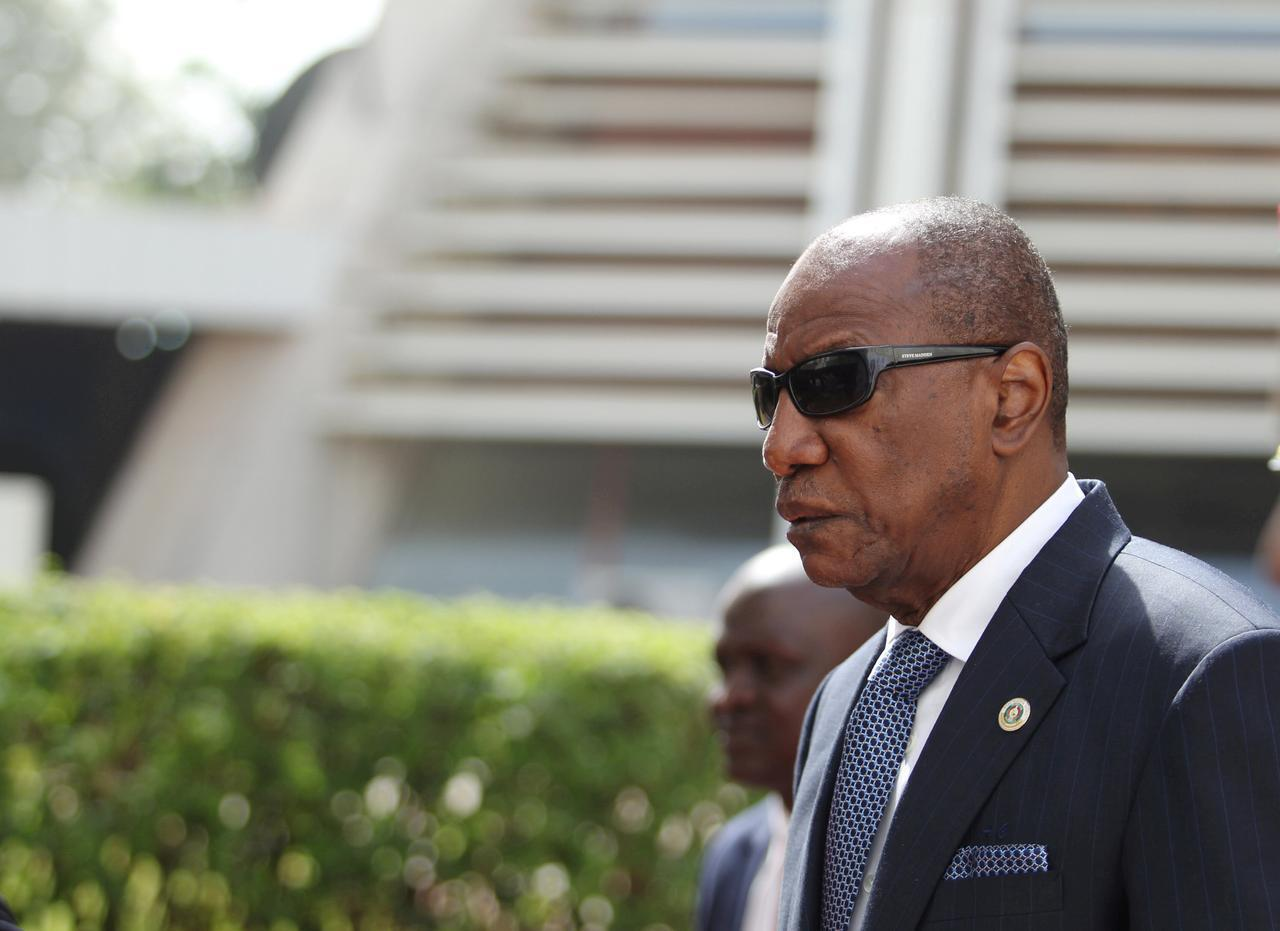 Shugaban kasar Guinea Alpha Conde