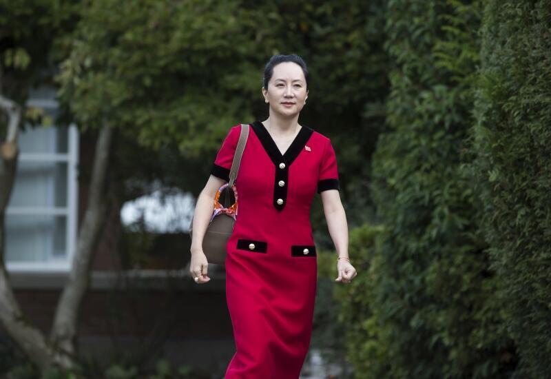 图为孟晚舟2019年10月1日出庭照片