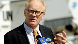 L'envoyé spécial de l'ONU en Afghanistan, le Norvégien Kai Eide.