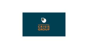 Image d'archive: Logo de l'International Crisis Group. 存档图片:国际危机组织