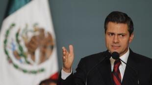 Rais mpya wa Mexico Enrique Pena Nieto