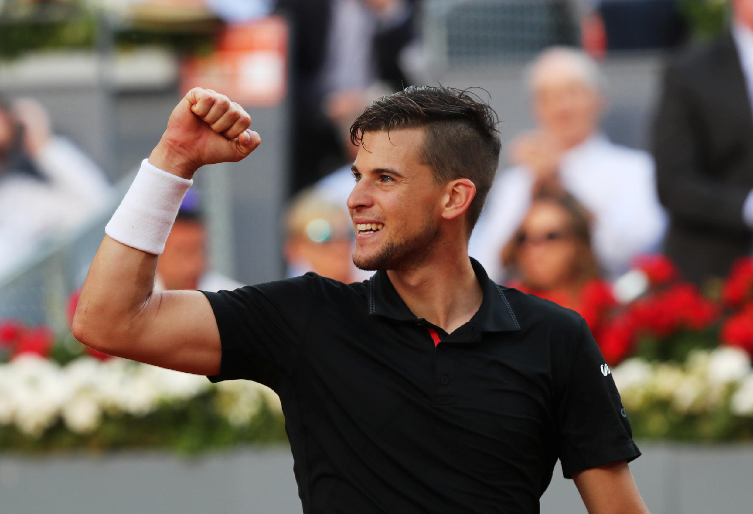 Dominic Thiem ended Rafael Nadal's bid for a sixth title at the Madrid Masters.
