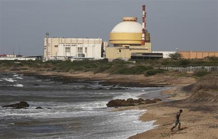Reator nuclear Kudankulam, na Índia.