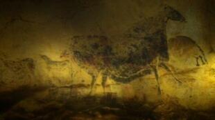 展出复制拉斯科洞窟壁画