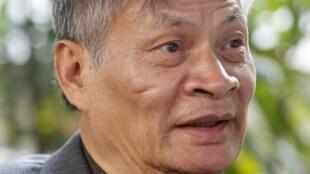 Ông Nguyễn Quang A trả lời phỏng vấn hãng tin Anh Reuters, tại Hà Nội, ngày 01/03/2016.