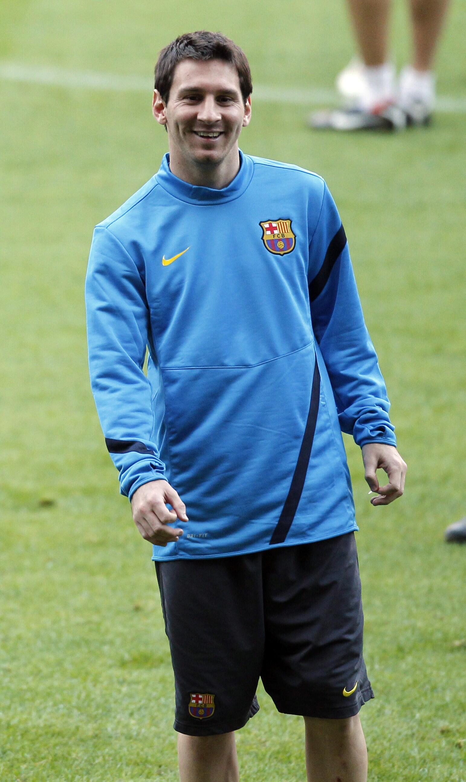 Lionel Messi, atacante do Barcelona que quer garantir a liderança de seu grupo na Liga dos Campeões.