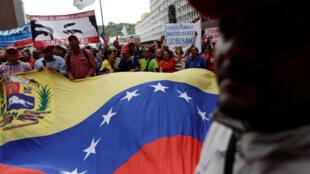 Masu goyan bayan Shugaba Nicolas Maduro