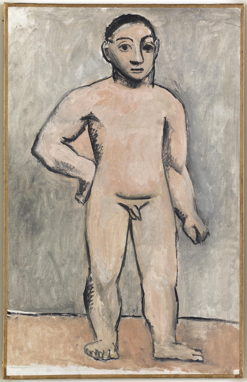 "Пабло Пикассо ""Обнаженный юноша"", 1906 г.© Paris, musée Picasso, © RMN-Grand Palais (musée Picasso de Paris) / Mathieu Rabeau"