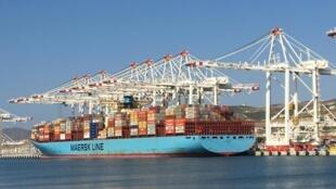Le nouveau terminal de Tanger Med 2, au Maroc.