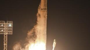 C'est de la base spatiale de Baïkonour dans le kazakhstan, qu'a été lancée, le 9 novembre 2011,  la sonde Phobos-Grunt.