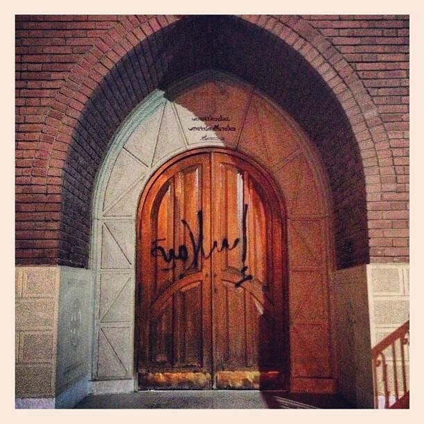 Portail de l'église Sainte Fatima à Héliopolis au Caire tagué «islamique».