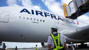 Avião A380 da Air France