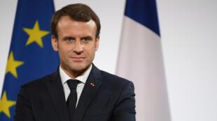 Le président français Emmanuel Macron repart à la hausse dans les études d'opinion.