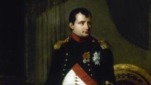 Robert Lefèvre (1755-1830). Portrait de Napoléon Ier (1769-1821), en uniforme de colonel des chasseurs de la Garde, 1809, commandé par la Ville pour l'Hôtel de Ville.