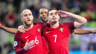 Bruno Coelho - Pedro Cary - Nilson Miguela - Portugal - Futsal - Desporto - Selecção Portuguesa - Sport - Accs
