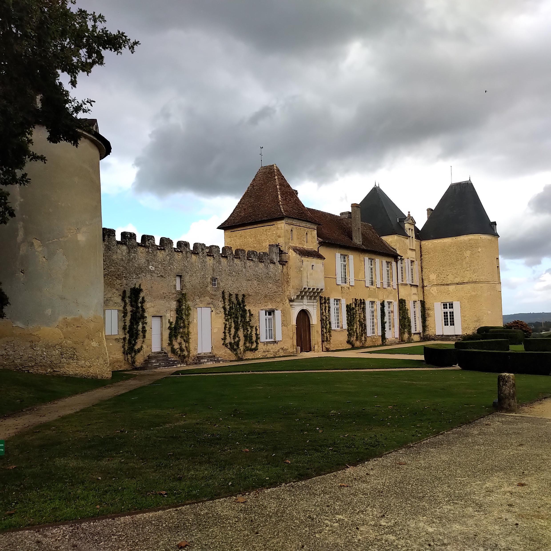 Una vista del Château D'Yquem, gran vino de la región bordelesa. 1 de octubre de 2019.