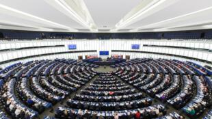 European Parliament Strasbourg Hemicycle