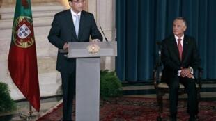 Quatre heures après l'investiture de son gouvernement, le nouveau Premier ministre portugais Passos Coelho a réuni ses ministres.