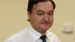 Luật sư Sergueï Magnitski do tố cáo các quan chức Nga gian lận, đã bị bắt giam, chết trong tù do không được chăm sóc (AFP)