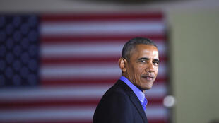 New Jersey, le 19 octobre. Barack Obama apoya al candidato demócrata Jim Murphy