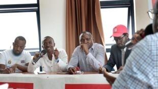 Les intervenants des Clubs RFI de la région des Grands Lacs à l'alliance française de Kampala en Ouganda.