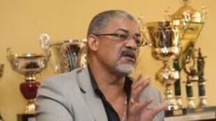Pedro Godinho, recém reeleito presidente da federação angolana de andebol