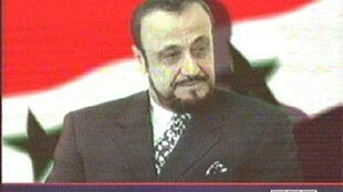Rifaat Al-Asad, tío del presidente sirio Bashar Al-Asad.