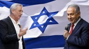 Benny Gantz, le rival le plus important du Premier ministre Benjamin Netanyahu pour les élections législatives du 9 avril 2019.