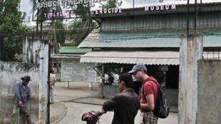 """Nhà tù Tuol Sleng ở PhnomPenh giờ trở thành bảo tàng """"Tội ác diệt chủng""""  ."""