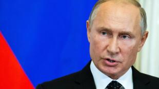 """Após acusar Israel, Vladimir Putin falou de """"uma série de circunstâncias acidentais trágicas"""""""
