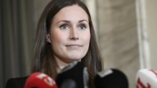 La finlandesa Sanna Marin,  la jefa de gobierno más joven del planeta el 10 de diciembre de 2019