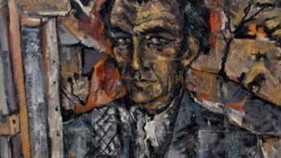 """""""Autorretrato"""", de Eduardo Pisano."""