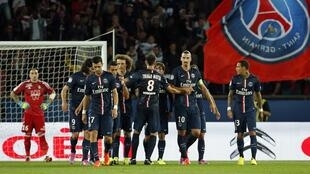 O Paris Saint-Germain venceu por 5-0 o Saint-Étienne no Parque dos Príncipes em Paris.