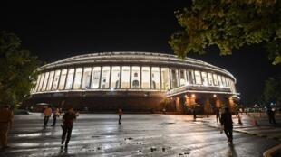 Vue du Parlement indien à New Delhi (image d'illustration).