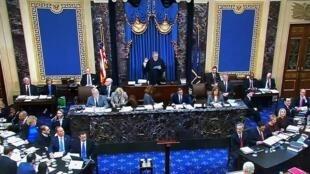 21 января в Сенате США начался процесс по импичменту Трампа.