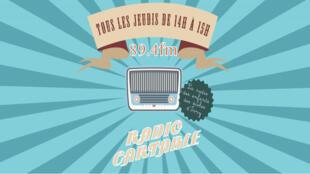 Capture d'écran du site de «Radio cartable» de l'école primaire et élémentaire Maurice Thorez  à Ivry-sur-Seine en région parisienne.