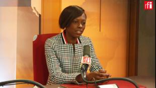 Sira Sylla, députée La République en Marche de Seine-Maritime et présidente à l'Assemblée du Groupe d'amitié France-Rwanda-Burundi.