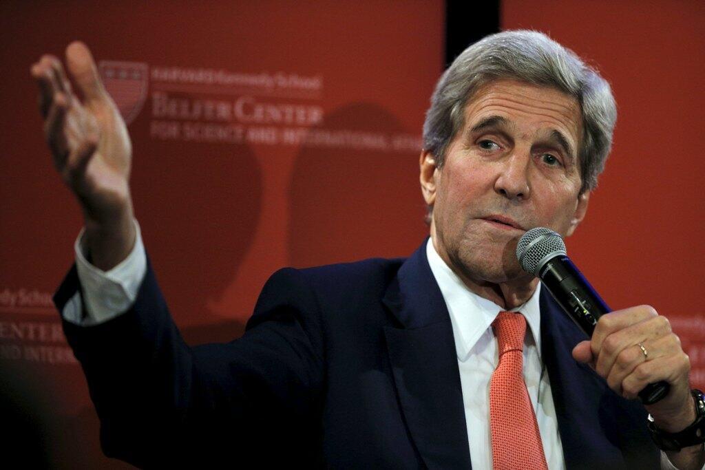 美国国务卿克里John Kerry