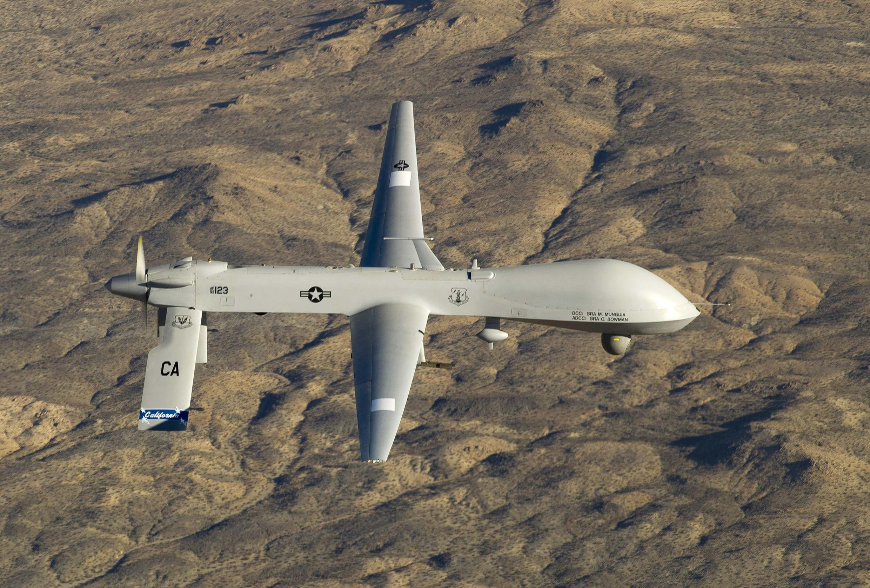 Un drone américain Predator MQ-1, le 6 février 2013
