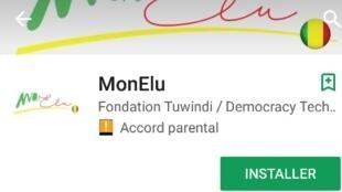 L'application Mon Elu est disponible au téléchargement sur PlayStore (Android).