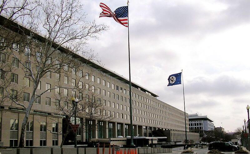 ساختمان مرکزی وزارت امور خارجه آمریکا در واشینگتن