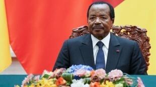 Paul Biya, Presidente dos Camarões.