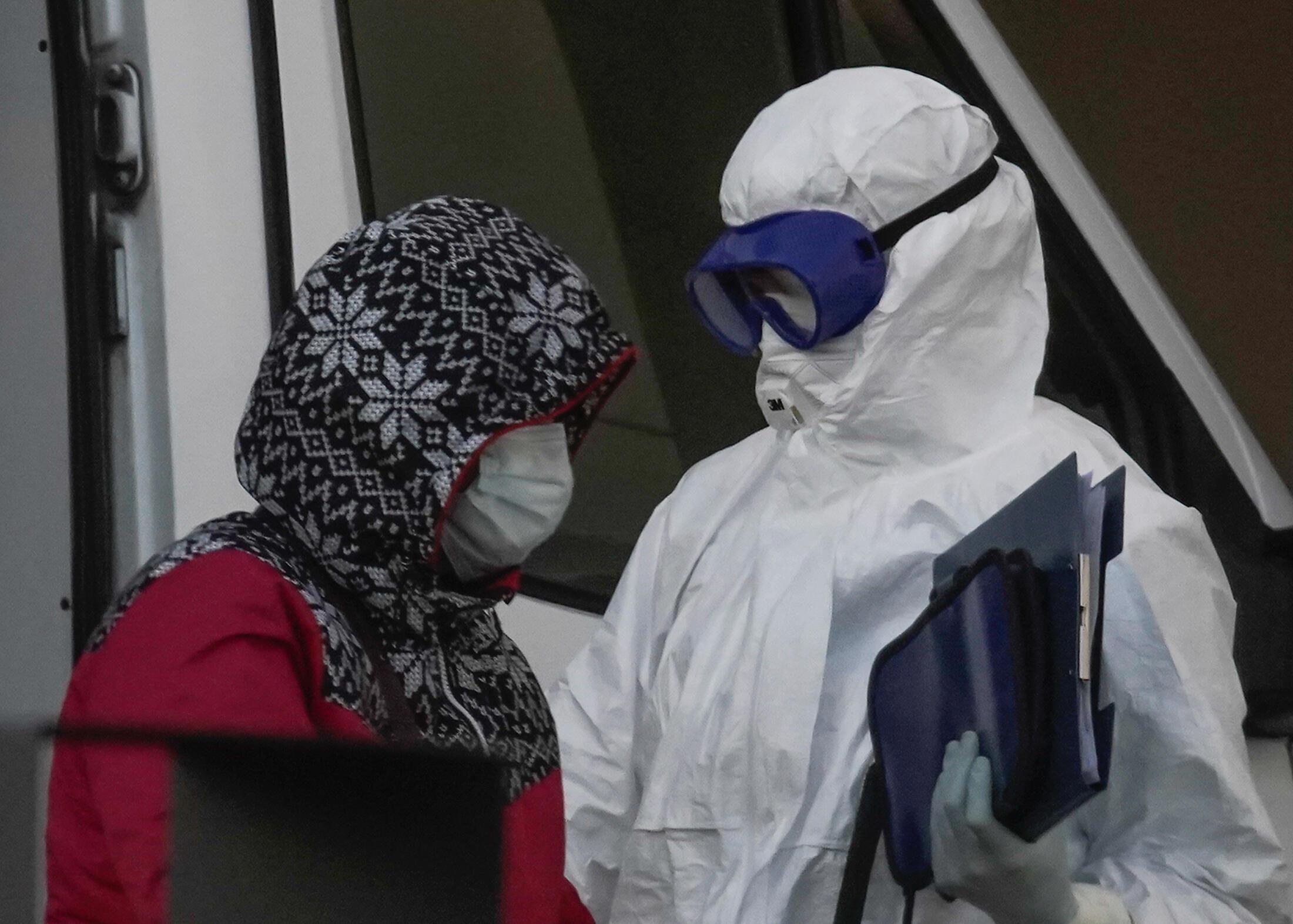 В России выявили более 21 тысячи случаев заражения коронавирусом