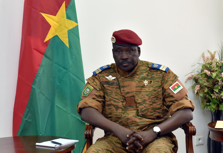 Lieutenant-Colonel Isaac Zida in Ouagadougou on 14 November